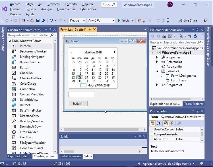 ComboBox aplicacion universal windows visual Studio 2015